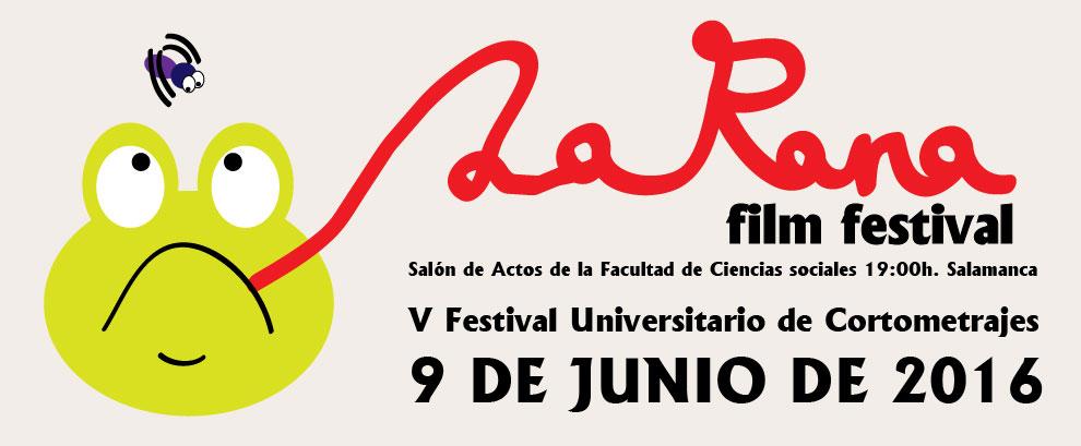 Cartel ganador para La Rana Flim Festival